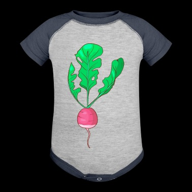 Beets Turnips - Baby Contrast One Piece