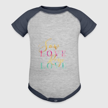 Sow Love Reap Love - Baby Contrast One Piece