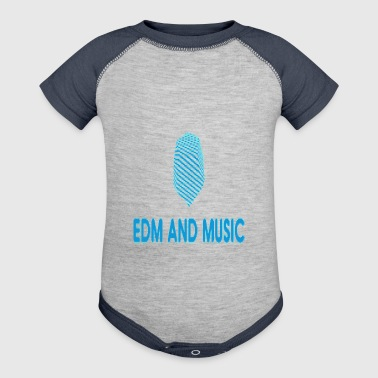 EDM and MUSIC - Baby Contrast One Piece