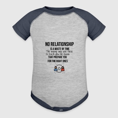 No relationship - Baby Contrast One Piece