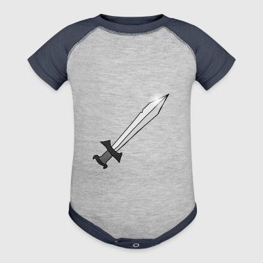 sword - Baby Contrast One Piece