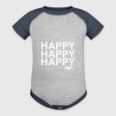Happy happy happy - Baby Contrast One Piece