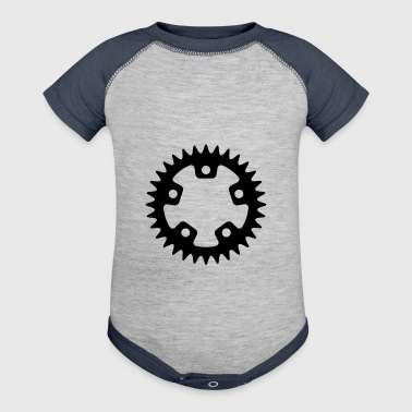 Bicycle - Sprocket - Baby Contrast One Piece