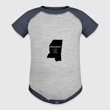 Mississippi - Baby Contrast One Piece