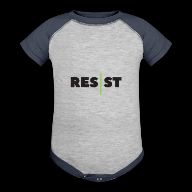 resist writer - Baby Contrast One Piece