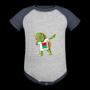 Madagascar Dabbing Turtle - Baby Contrast One Piece