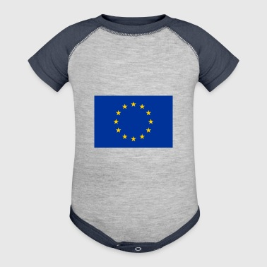 Flag of Europe - Baby Contrast One Piece