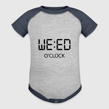WEED o'clock - Baby Contrast One Piece