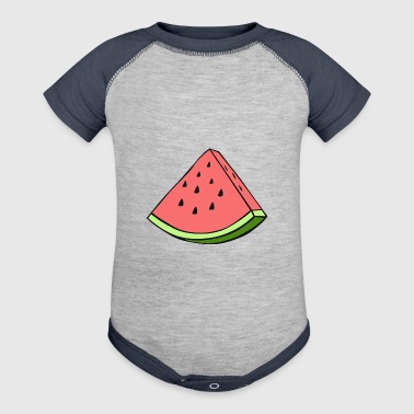 Melon - Baby Contrast One Piece