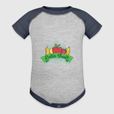Latin Fruit - Baby Contrast One Piece