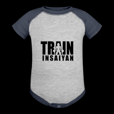 train in saiyan - Baby Contrast One Piece
