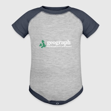 Geograph Britain and Ireland - Baby Contrast One Piece