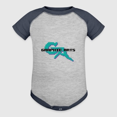 Graphic Arts T-Shirt - Baby Contrast One Piece