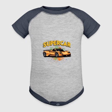 Supercar - Baby Contrast One Piece