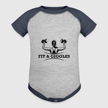 FiT and Giggles - Baby Contrast One Piece