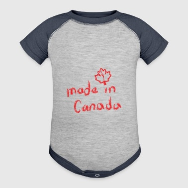 Made in Canada. - Baby Contrast One Piece