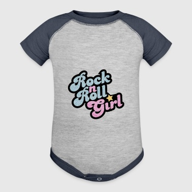 Rock n Roll Girl - Baby Contrast One Piece