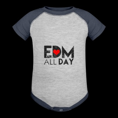 Electronic Dance Music Techno Rave Shirt Gift - Baby Contrast One Piece