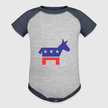 Democratic Party - Baby Contrast One Piece
