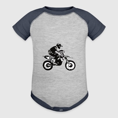 motocross - Baby Contrast One Piece