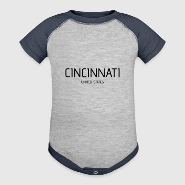 Cincinnati - Baby Contrast One Piece