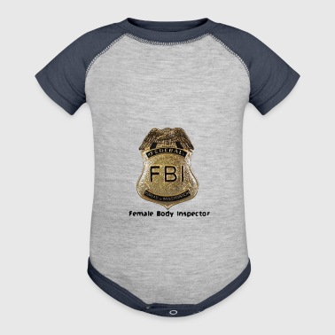 FBI Acronym - Baby Contrast One Piece