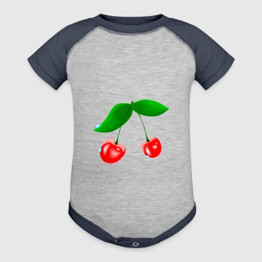 Wet Cherry - Baby Contrast One Piece