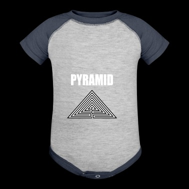 PYRAMID - Baby Contrast One Piece