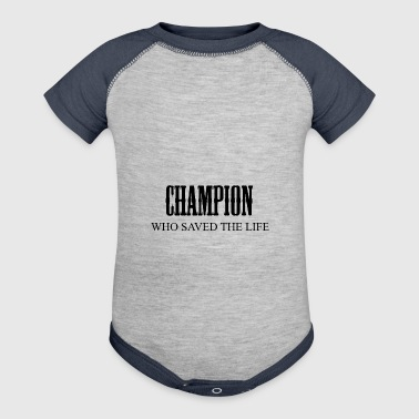 champion - Baby Contrast One Piece
