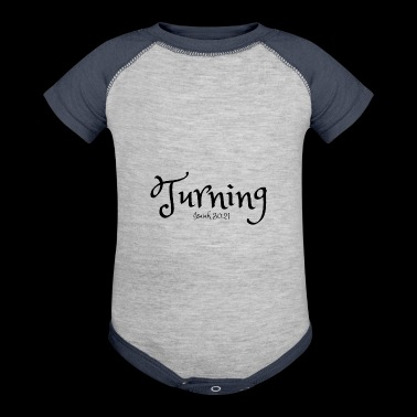 Turning - Baby Contrast One Piece