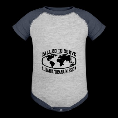 Albania Tirana Mission - LDS Mission CTSW - Baby Contrast One Piece