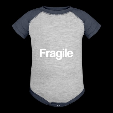 Fragile Clothing for Fragile individuals. - Baby Contrast One Piece