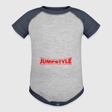 LOVE TECHNO GESCHENK goa pbm JUMPSTYLE speed - Baby Contrast One Piece