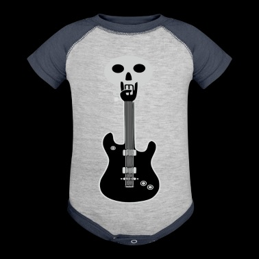 Rock On Guitar - Baby Contrast One Piece