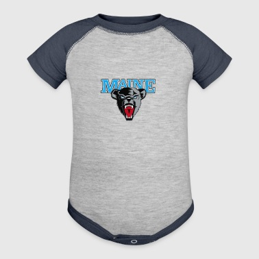 Maine Black Bears Premier - Baby Contrast One Piece