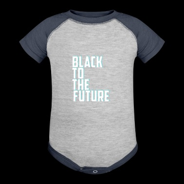 Black to the future - Baby Contrast One Piece