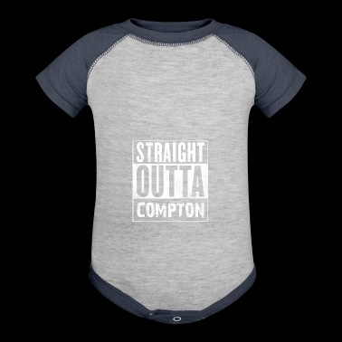 STRAIGHT OUTTA COMPTON - Baby Contrast One Piece