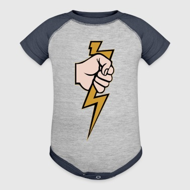 LIGHTNING - Baby Contrast One Piece