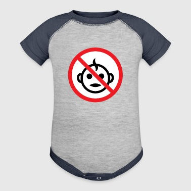 No Children Allowed - Baby Contrast One Piece