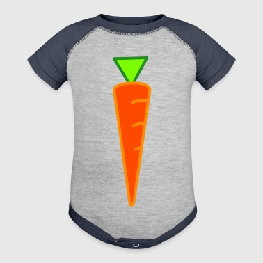 carrot - Baby Contrast One Piece