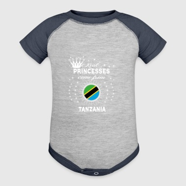 queen love princesses TANZANIA - Baby Contrast One Piece