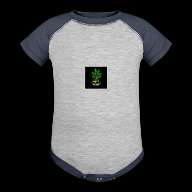 Weed - Baby Contrast One Piece