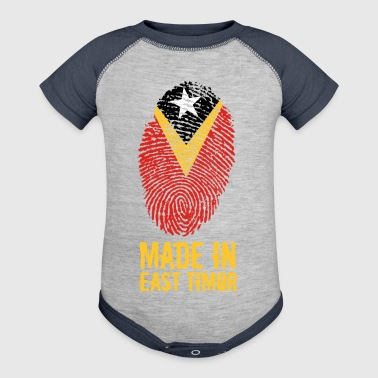 Made In East Timor - Baby Contrast One Piece