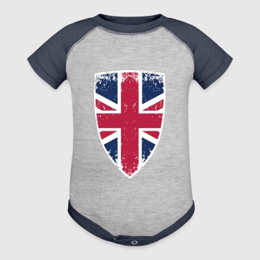 The flag of UK - Baby Contrast One Piece