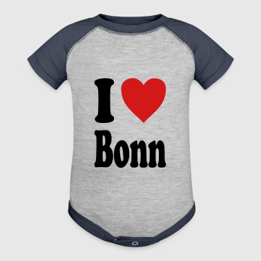 I love Bonn (variable colors!) - Baby Contrast One Piece