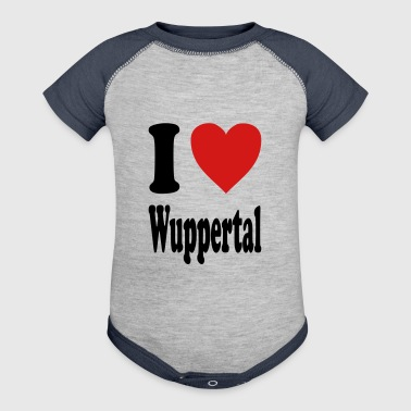 I love Wuppertal (variable colors!) - Baby Contrast One Piece
