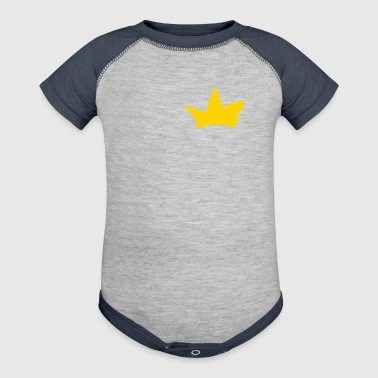 sweet crown for offspring prince , king, gift idea - Baby Contrast One Piece