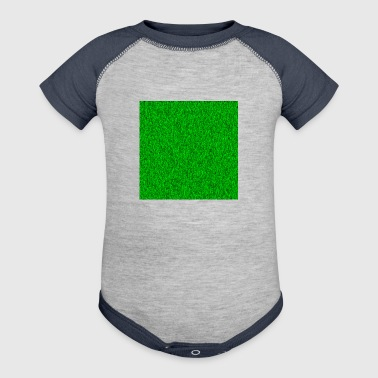 Grass Picture - Baby Contrast One Piece