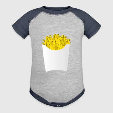 french fries pommes frites fastfood fast food14 - Baby Contrast One Piece