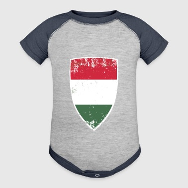 Flag of Hungary - Baby Contrast One Piece
